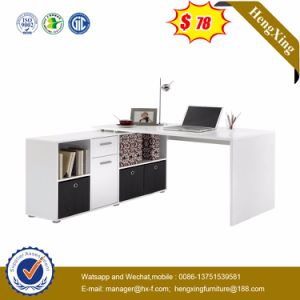 Chinese Modern Wood Office Furniture L Shape Office Table (NS-ND128) pictures & photos