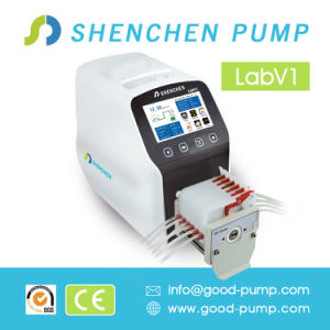 Factory Lowest Price Wholesale Lab Test Liquid Transfer Peristaltic Pump pictures & photos