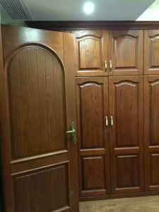 Bedroom Furniture Wood Wardorbe Door pictures & photos