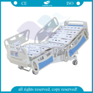 10-Part Steel Bedboards ICU Bed (AG-BY008) pictures & photos