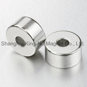 Shk009-Rare Earth Permanent Neodymium Tile Ring Motor Magnet (N38)