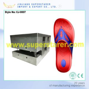 Injection Shoes Mould Foaming Shoes Slipper Plastic Injection Mould pictures & photos