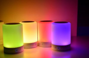 China Wireless Bluetooth Speaker with Smart Touch LED Mood ...