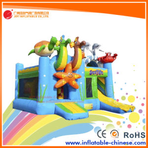 Famous Animal Theme Inflatable Jumping Bouncer Combo (T3-615) pictures & photos