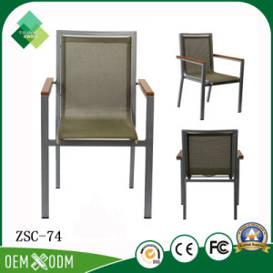Janpanese Style Metal Chair for Outdoor in Steel (ZSC-74) pictures & photos