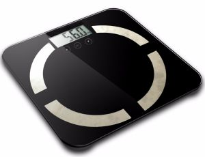 Stainless Steel Glass Body Fat Scale (81530C) pictures & photos