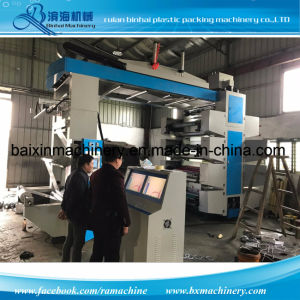 Belt Control Chamber Doctor Blade 8 Colors Flexo Printing Machine pictures & photos