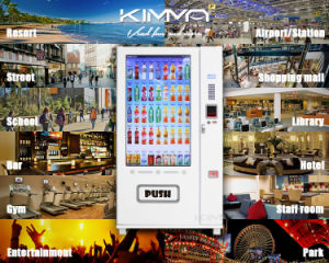 Soda Vending Machine with 50 Inches Touch Screen pictures & photos