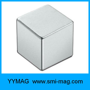 Neodymium NdFeB Silver Cube Magnetic Toy pictures & photos