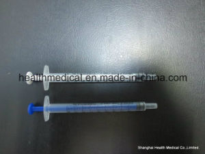 Disposable Syringe with Needle Luer Lock Tip pictures & photos