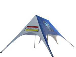 Outdoor Event Red Bull Star Shade Tent for Advertising pictures & photos