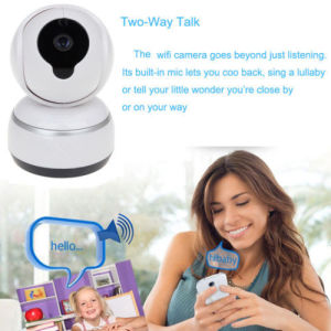 HD 720p Q3 WiFi Video Camera 2 Way Talking IR PT Digital Baby Sound Monitor pictures & photos
