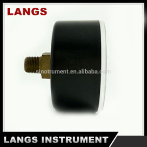 018 Auto Parts  Black Plastic Brass Internal Pressure Gauge pictures & photos