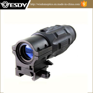 New Design Tactical 3X Magnifier Scope with Twist Mount pictures & photos