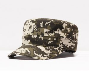 Digital Camo Flat Top Cap pictures & photos