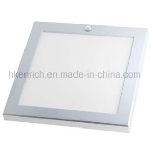 Square IR Motion Sensor LED Panel Light for Energy Saving pictures & photos