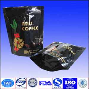 Stand up Coffee Package Bag with Zipper pictures & photos