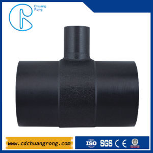 Plastic Fitting (HDPE welded Reducing Tee) pictures & photos