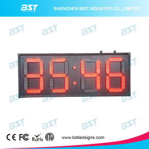 Red Color Outdoor Weatherproof up/Down Counter LED Sign Display pictures & photos
