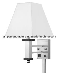 UL cUL Single Wall Lamp with Brushed Nickel Finish pictures & photos