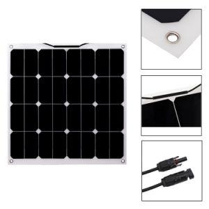 50W 12V Semi Mono Flexible Solar Panel pictures & photos