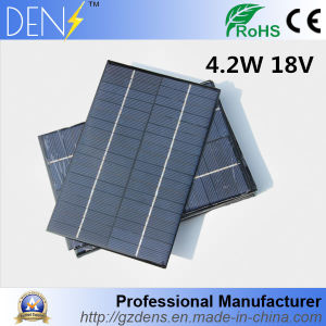 4.2W 12V DIY Solar Power Charger Polycrystalline Solar Cell pictures & photos