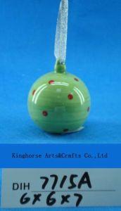 Christmas Tree Decorative Ceramic Round Baubles pictures & photos