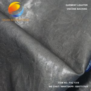 Good Hand Feeling Artificial Leather for Clothes pictures & photos