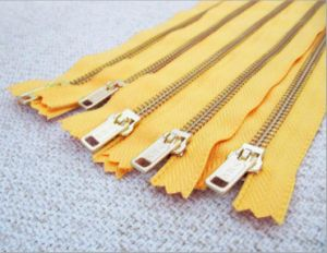 Metal Zipper for Y Teeth (5# golden brass)