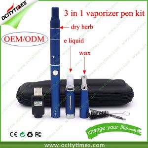Ocitytimes 3 in 1 Wax Dry Herb Vaporizer Vape Pen pictures & photos