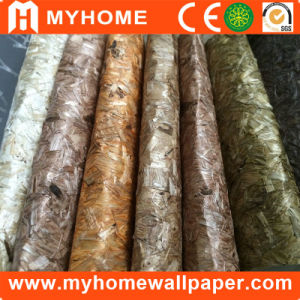 High Grade Eco-Friendly Natural Texture Wallpaper Wallcovering for Hotel Bedroom pictures & photos