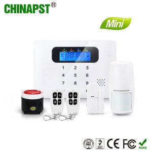 Super Smart Mini Design Wireless GSM Security Home Alarm System (PST-G30C) pictures & photos