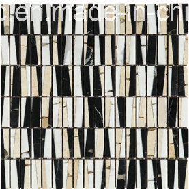 Special Design Marble Mosaic in Floor Tile (FYHF021) pictures & photos