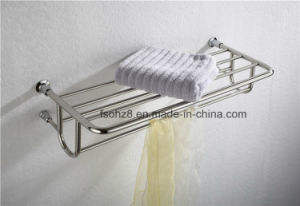 Stainless Steel Bathroom Accessories Towel Rack for Hotel (804) pictures & photos