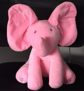 Plush Singing Electric Elephant Shaking Ears Toy pictures & photos