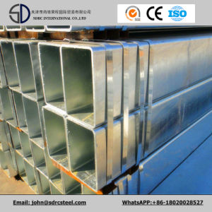 Hot-Dipped Galvanized Square Steel Pipe/Square Welded Steel Tube pictures & photos