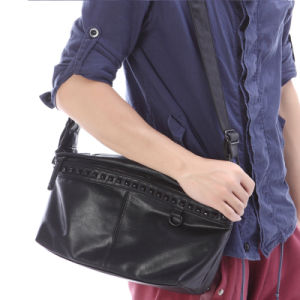 High Quality Fashion Newest Wholesale Rivet Shoulder Bag Bag pictures & photos