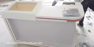 Office Furniture Made by Solid Surface Acrylic Surface for Bank pictures & photos