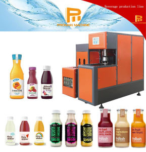 Semi-Automatic Stretch Blow Moulding Machine for Hot Filling Bottles pictures & photos