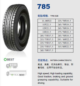 Annaite Brand New Radial Truck Tyre (11R22.5 295/80R22.5 315/80R22.5) pictures & photos