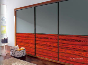 Glass Series Sliding Door for Modern Eardrobe (GL-A25-DEO-001) pictures & photos