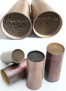 Universal Catalytic Converter with Precious Metal Honeycomb Substrate pictures & photos