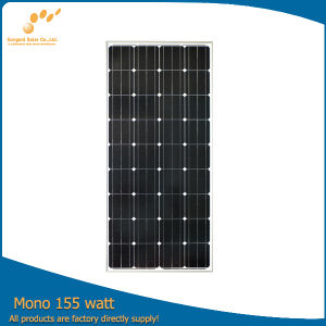 China Manufacturer 160W Mono Solar Panel Price List pictures & photos