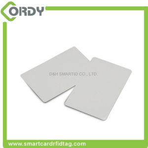 CR80 thermal printing glossy finish rewritable blank RFID PVC card pictures & photos