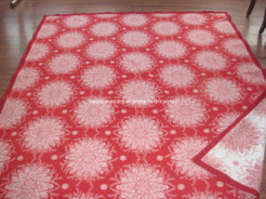 Jacquard Design 100% Cotton Blanket (NMQ-CBB-004) pictures & photos