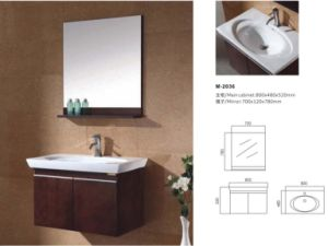 Reliable Bathroom Furniture Bathroom Vanity Cabinet pictures & photos
