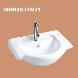 Bathroom Superior Quality Corner Ceramic Sink
