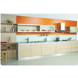 P-MK014 MFC Melamine Kitchen Cabinet