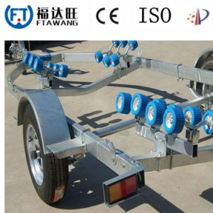 Heavy Duty Galvanizing/Powder Coating Boat Trailer with Roller pictures & photos
