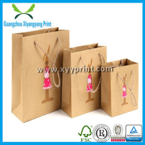 Custom Making Origami Kraft Paper Gift Bag with Low Price pictures & photos